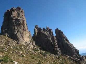 Imposante Felszacken im Bavella-Massiv