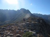 Aufstieg zur Punta di l'Oriente