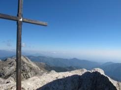 Gipfelkreuz Punta di l'Oriente