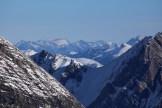 Blick zum frisch verschneiten Brienzergrat