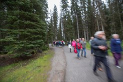 Einiges los in Lake Louise