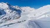 Der eindrückliche Grosse Aletschgletscher