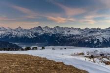 November-Schnee in den Berner Voralpen