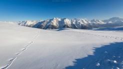 Walliser Winterlandschaft