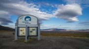 Grenze Yukon / NWT
