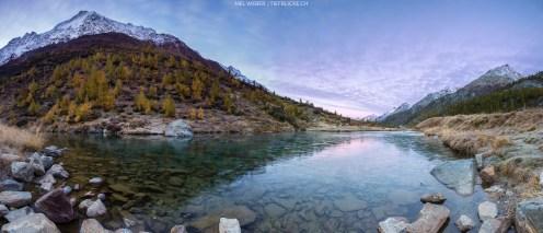 Morgenstimmung (Panorama aus 6 Einzelaufnahmen)
