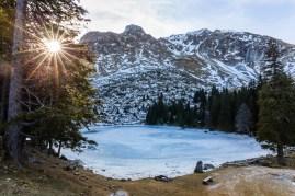 Auch diesen Winter ist der See gefroren