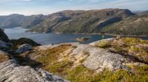 Aussicht vom Storfjellet Lauvsnes