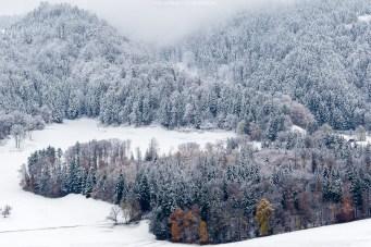Emmental frisch verschneit
