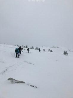 Im November stand bereits die erste Wintertour auf dem Programm...