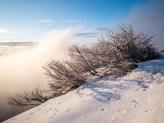 Winter in den Vogesen, Frankreich