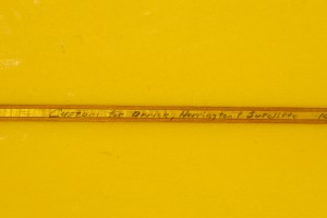 A fragment of Uncle O's surfboard.