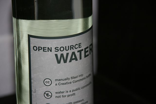 """Open Source"" Water"