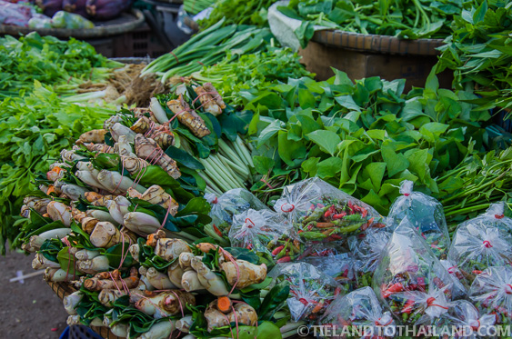 Vegetables at the Ban Khlong Luek Border Market