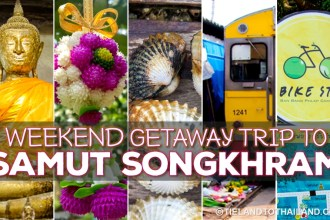 Weekend Getaway Trip to Samut Songkhram
