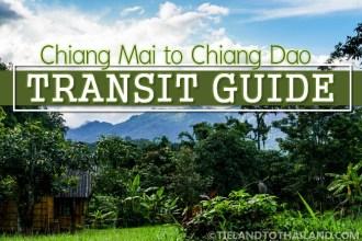 Chiang Mai to Chiang Dao Transit Guide
