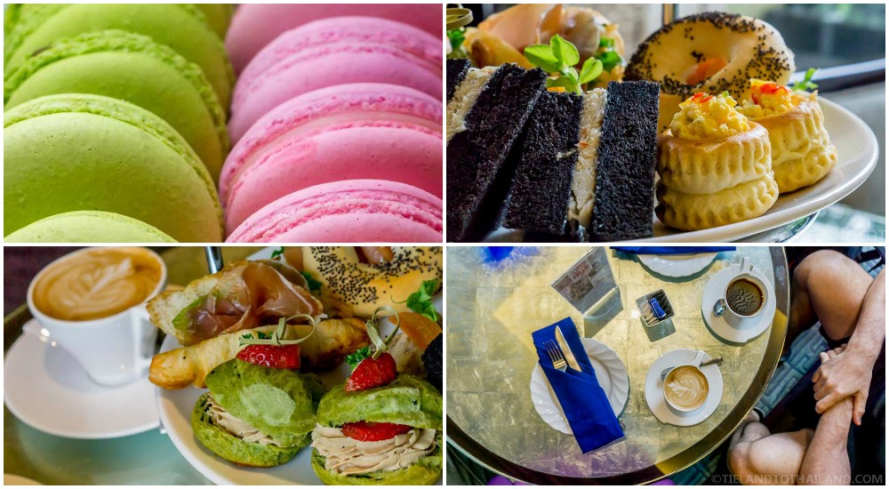 Delicious goodies enjoyed at The Sukosol, a luxury hotel in Bangkok
