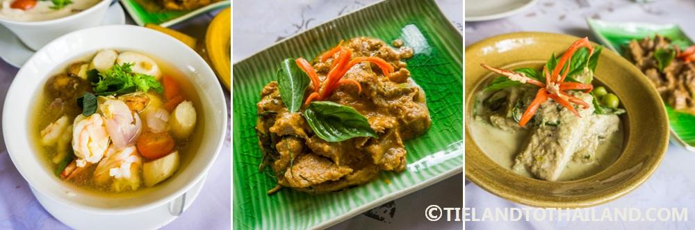Culinary creations at Smile Koh Mak