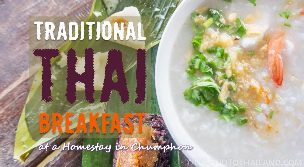 Traditional Thai Breakfast