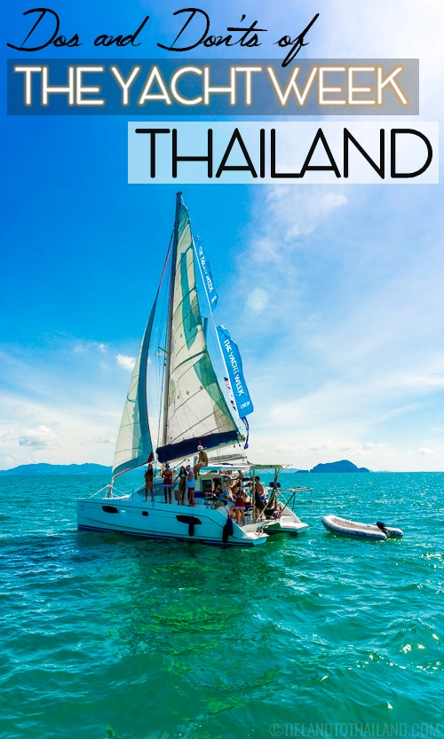 Thailand Week Thai Fashion Food And Fun: Dos And Don'ts Of The Yacht Week Thailand