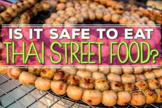 Is it safe to eat Thai street food?