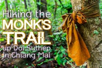 Hiking the Monk's Trail Up Doi Suthep