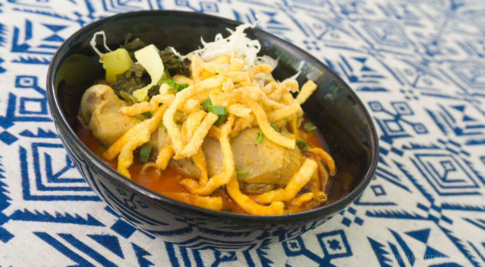 Northern Thai Food: Khao Soi Gai