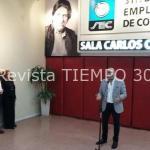 CLAUDIO HEREDIA HOMENAJEÓ A CARLOS CARELLA