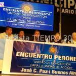"""ENCUENTRO PERONISTA EN JCP: """"UNIDAD DE CONCEPCIÓN PARA LA UNIDAD DE ACCIÓN"""""""