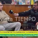 AGUSTÍN ROSSI CONVOCÓ A CONSTRUIR UNA ESPERANZA, LA ESPERANZA DEL PUEBLO ARGENTINO