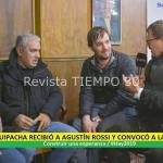 EL PJ DE SUIPACHA RECIBIÓ A AGUSTÍN ROSSI Y CONVOCÓ A LA UNIDAD