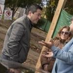 LEO NARDINI RECORRIÓ LA PLAZA SAN MARTÍN | Fue en Ing. Sourdeaux donde el Municipio trabaja en la recuperación del espacio público para la familia