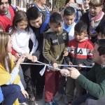 INAUGURACIÓN DE NUEVOS PAVIMENTOS CON HIDRÁULICA EN EL B° SANTA LUCÍA DE GRAND BOURG