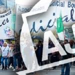 JUDICIALES BONAERENSES REALIZARON UN PARO TOTAL Y MOVILIZARON A ECONOMÍA