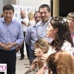 Leo Nardini y el ministro Arroyo supervisaron la entrega de tarjetas AlimentAR en Malvinas Argentinas