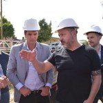 ARGENTINA DE PIE | Gustavo Menéndez y Gabriel Katopodis supervisaron obras en Merlo