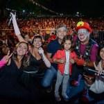 """""""Juanchi"""" Zabaleta participó de los Carnavales de Hurlingham, por los que pasaron más de 50 mil vecinos"""
