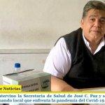 Mario Ishii intervino la Secretaría de Salud de José C. Paz y se encuentra el frente del Comando local que enfrenta la pandemia del Covid-19
