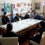 El intendente de Chivilcoy Guillermo Britos reconoció a los policías heridos por el profesionalismo con el que actuaron