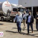 """Leo Nardini visitó una de las empresas del Parque Industrial de Malvinas Argentinas y reafirmó que """"el Estado Municipal está presente"""""""