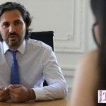 """Santiago Cafiero afirmó que los cuestionamientos a la relación de Alberto y Cristina """"es el deseo de la ruptura del Frente de Todos"""""""