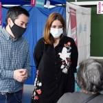 """Leo Nardini supervisó el operativo de vacunación contra el Covid-19 en Malvinas Argentinas: """"Ya se aplicaron 7129 dosis"""""""