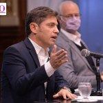 """Gobernador Kicillof: """"Se cumplirán a rajatabla las medidas de restricción del gobierno nacional"""""""