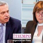 El Presidente Alberto Fernández demandó a Patricia Bullrich por 100 millones de pesos que serán donados al Instituto Anlis-Malbrán