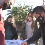 Leo Nardini supervisó la obra integral de las calles Paracas y Combate de San Lorenzo en la ciudad de Grand Bourg