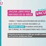 """Gobierno bonaerense envía nuevos turnos para vacunarse contra el coronavirus: """"171 mil para la primera dosis y 46 mil para la segunda"""""""