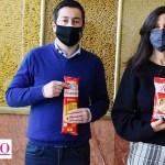 """Leo Nardini y Paula Español visitaron la Planta Luchetti-Molinos Río de La Plata: Malvinas Argentinas es parte de """"Súper Cerca"""""""