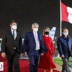 El Presidente Fernández viajó a Perú para asistir a la asunción presidencial de Castillo