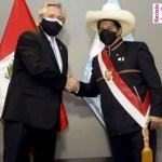 El Presidente Fernández participó en Perú del acto de juramentación del flamante mandatario Pedro Castillo