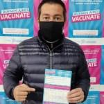 """Leo Nardini recibió su primera dosis de la vacuna contra el Covid-19: """"Tengo mucha emoción, me tocó la primera dosis"""""""